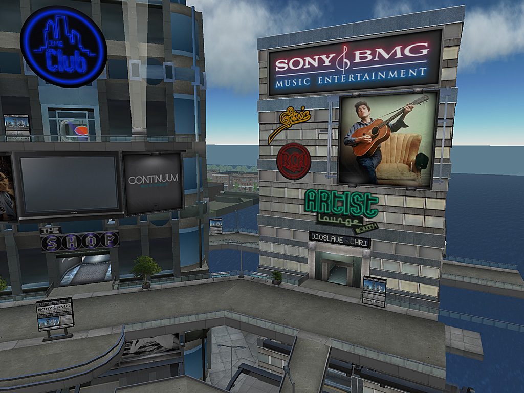 _notizen [archiv]: Sony BMG kommt nach Second Life